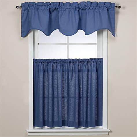 45 inch tier curtains logan 45 inch window curtain tier pair in blue bed bath