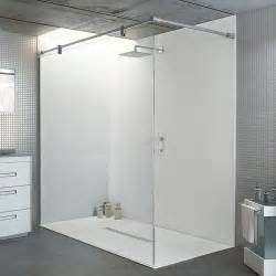 this large statement walk in shower has been created in a