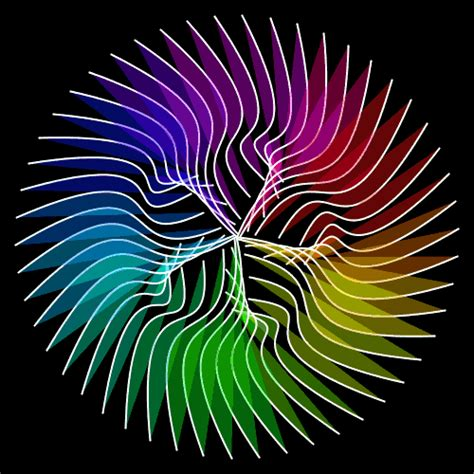 ilusiones opticas geometria foto animada animaciones de gifs reflectantes