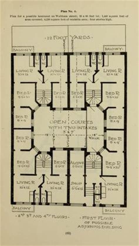 tenement floor plan dumbbell tenement floor plan buscar con