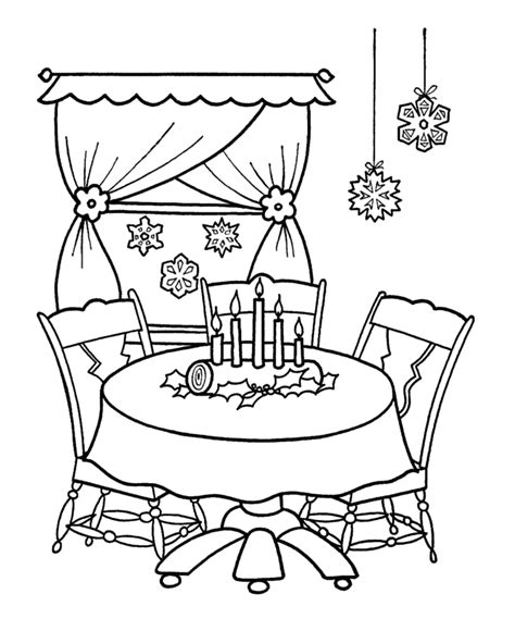 christmas decorations coloring pages az coloring pages