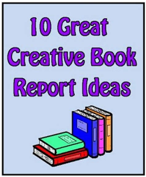 creative book report ideas best photos of book report ideas book report ideas