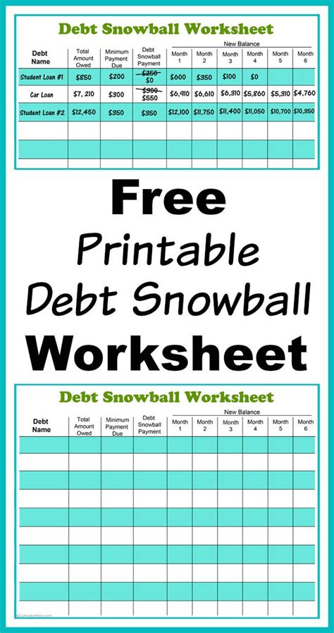 Spreadsheet For Paying Debt by Best 10 Debt Snowball Ideas On Dave Ramsey