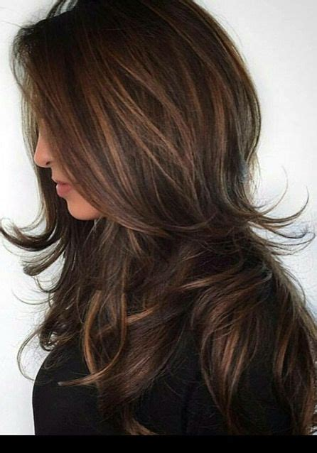 long hair short layers pictures of color cuts and up top 25 best long layered haircuts ideas on pinterest