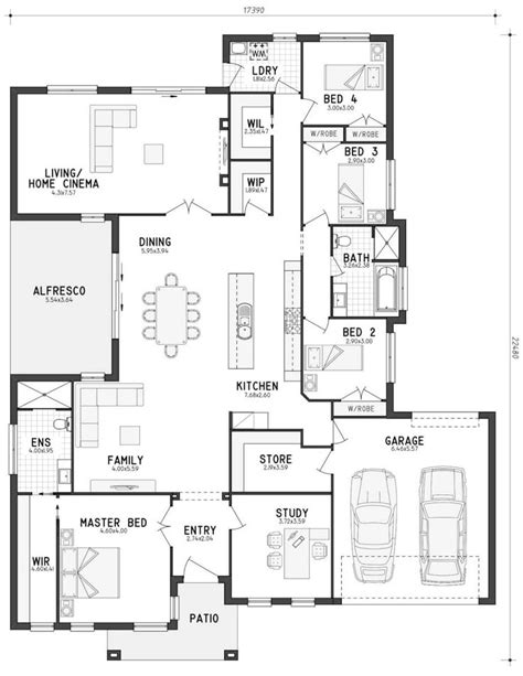 floor plan friday split level 4 bedroom study mejores 184 im 225 genes de floor plans en pinterest de las