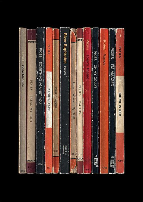 pixies surfer rosa album as penguin books by standarddesigns