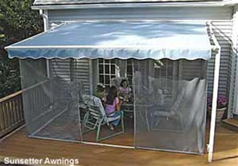Mosquito Netting For Rv Awning Porch Enclosures Ten Great Ideas To Consider