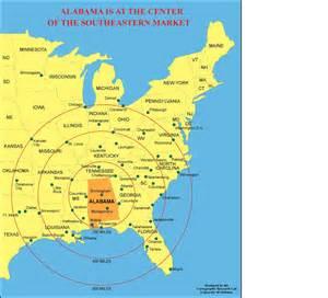 Alabama Usa Map by Alabama Outline Maps And Map Links