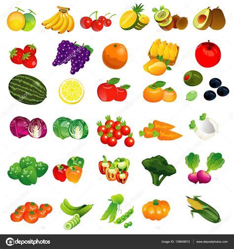 imagenes animadas de frutas y verduras dibujos de frutas y verduras a color