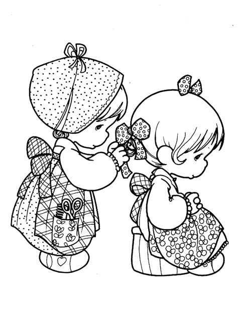 precious moments coloring pages love precious moments for love coloring pages