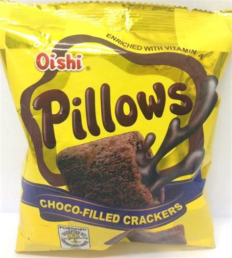 Oishi Pillows by Oishi Pillows Chocolate Filled Crackers 38g From Buy