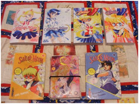 my is a sailor books my sailor moon book collection by sweet blessings on