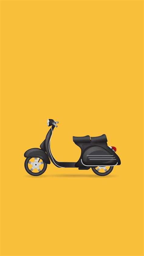 wallpaper iphone vespa minimal iphone wallpaper vintage italian scooter iphone