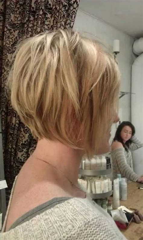 photos of the back of a haircut with a w neckline 15 back of bob hairstyles bob hairstyles 2017 short