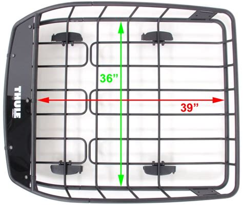 Q Connect Drawing Rack by What Are The Useable Interior Dimensions For The Thule