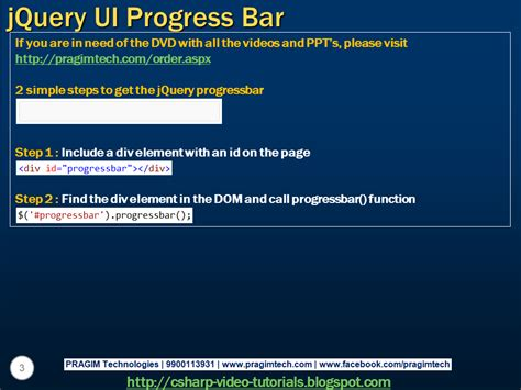 tutorial jquery ui pdf sql server net and c video tutorial jquery ui progress bar