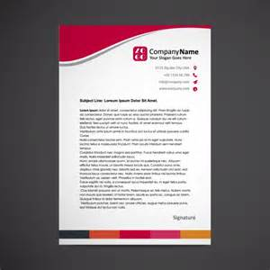 free letterhead templates with logo letterhead template design vector free
