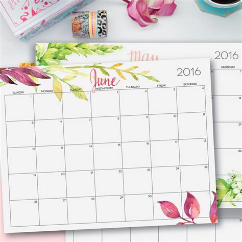 printable calendar 8 5 x 11 2016 printable calendar by month 8 5 x 11 search results