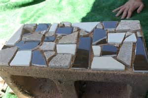 cinder block furniture backyard mosaic cinder block planter part one delicate construction