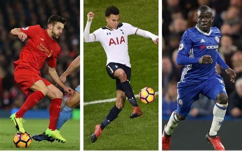 best football shoes for midfielders the 20 best premier league midfielders of the season so