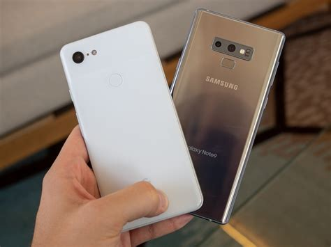 3 samsung note 9 pixel 3 xl vs samsung galaxy note 9 which should you buy android central