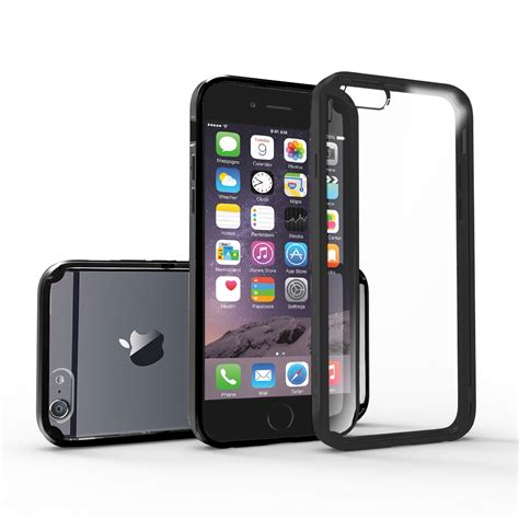 Iphone 6 Plus 6s Plus Casing Cover Bumper Armor Sarung 1 slim hybrid shockproof clear back bumper cover for iphone 6 6s plus ebay