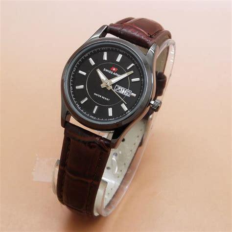 Jam Tangan Wanita Cewek Merk Aigner Kulit Tanggal Elegan Murah jual beli jam tangan wanita arloji cewek swiss army tar 2023 l leather kulit 2 warna promo