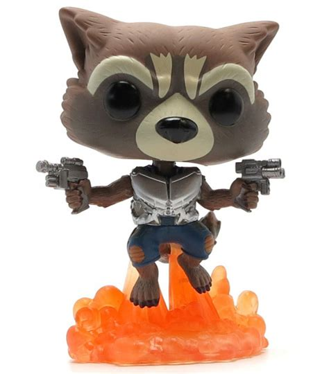 Funko Pop Guardians Of The Galaxy Rocket Raccoon Flocked Ravagers Edi Funko Pop Rocket Racoon Guardians Of The Galaxy 2 Artoyz
