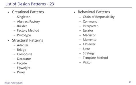 repository pattern gang of four design patterns net
