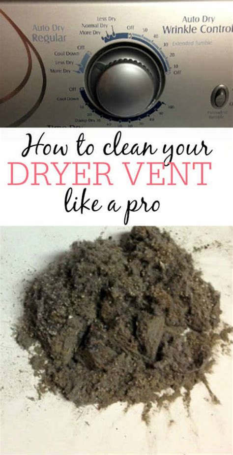 how to clean your dryer vent like a pro iseeidoimake