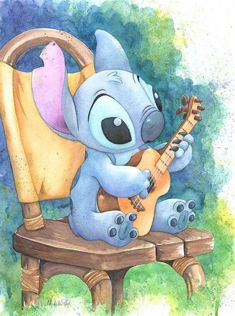 stitches painting disney artwork stitch artwork