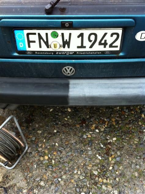 Kunststoff Zierleisten Lackieren by Das Alte Plastikproblem Manu 180 S Golf 2 Gti