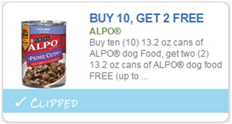 dog food coupons alpo new buy 10 get 2 free alpo dog food coupon