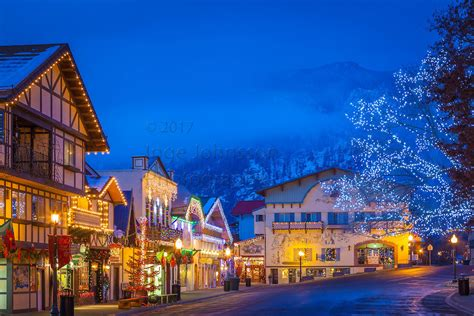 Leavenworth Washington During The Annual Leavenworth S Lighting Leavenworth