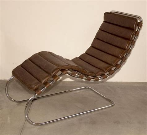 mies chaise mies van der rohe chaise lounge at 1stdibs