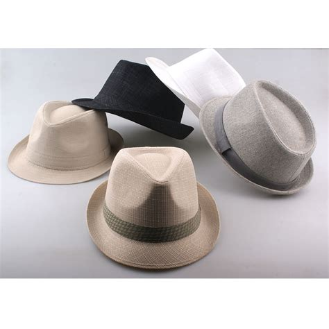 2016 fashion fedora hat for vintage jazz hats