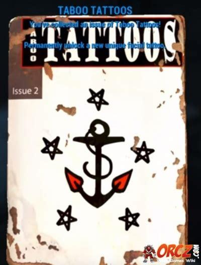eagle tattoo location fallout 4 fallout 4 taboo tattoos magazine orcz com the video