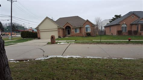 house insurance in michigan homes damaged by fraser sinkhole not likely covered by insurance michigan radio