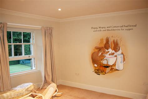 beatrix potter wall mural mural beatrix potter by mural artist 4 u mural