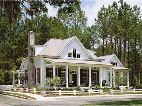 House Plans With Front And Back Porches by One Story House Plans With Front And Back Porches Escortsea