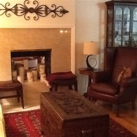mid century modern and traditional melding traditional furniture with mid century modern house