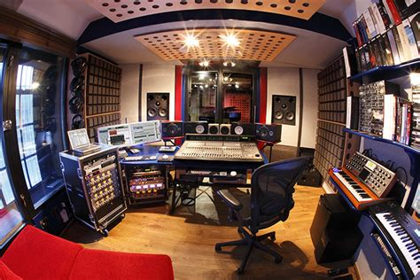 small music studio recording studio control room fisheye small check out