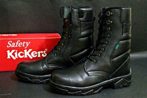 Sepatu Kickers Delta Rock Safety jual sepatu kickers boots pdl delta safety kulit kerja dan