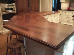 kitchen countertops designs 58 cozy wooden kitchen countertop designs digsdigs