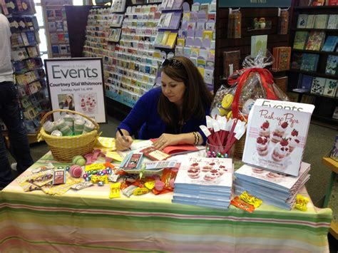 book themed parties eventful possibilities push up pops book signing with courtney dial ebony