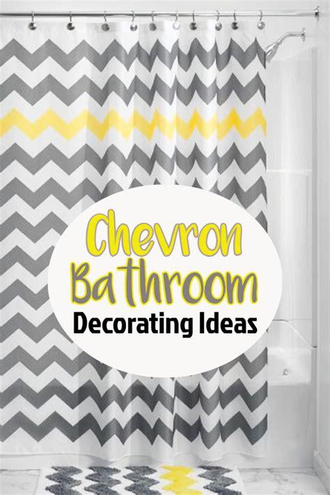 chevron bathroom ideas chevron bathroom decor and diy bathroom decorating ideas i