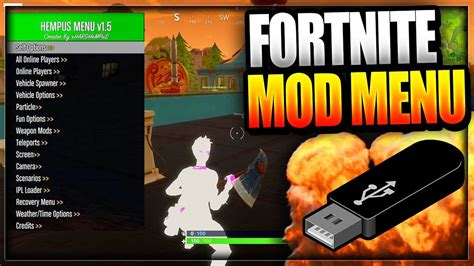 fortnite not working fortnite battle royale usb mod menu on pc xbox one ps4