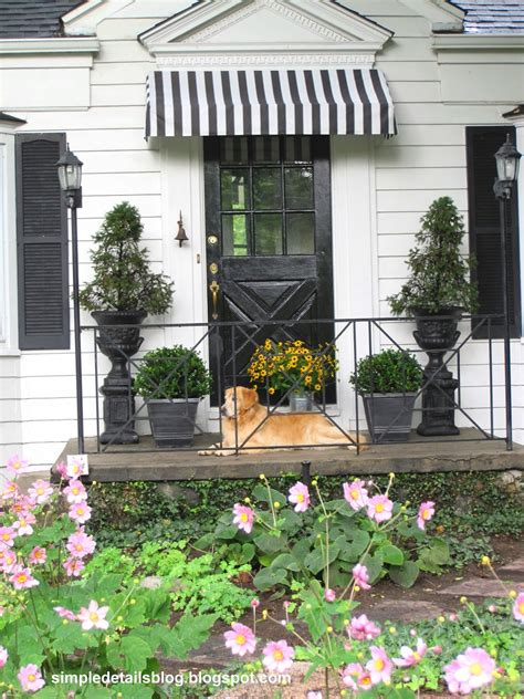 diy front door awning simple details diy awning tutorial