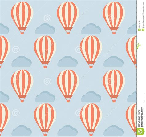 air balloon pattern hot air balloon pattern stock images image 38707834