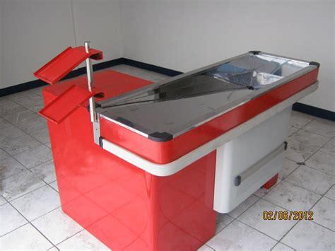 Rak Gondola Single meja kasir ekspres distributor perlengkapan rak toko